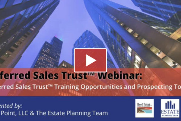 [Video] DST Training Webinar with Michael McIntyre - Reef Point LLC